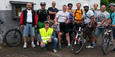 Fahrrad-Ausflug ins Neckartal