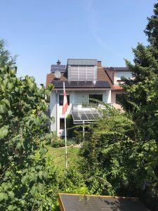 Solarstrom als Überdachung in Wiesloch