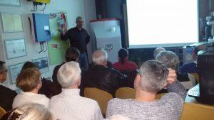 Großes Interesse an Vorträgen zum Thema Stromspeicher. Wunsch nach Unabhängigkeit und alternativen Energiequellen